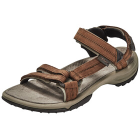 Teva Terra Fi Lite Leather Sandaler Damer brun